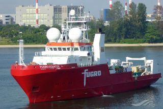 Fugro Performs First Deepwater AUV and Geotechnical Site Survey For Brunei Shell Petroleum