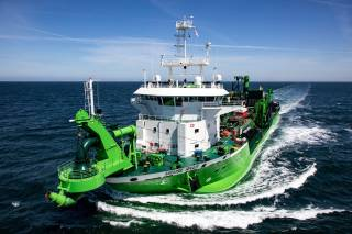 DEME's New Dredger Completes Sea Trials