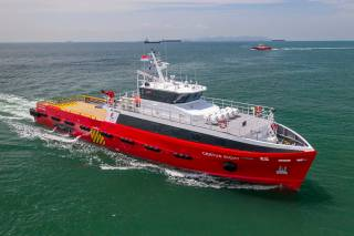 Strategic Marine Delivers Fast Crew Boat to Centus Marine