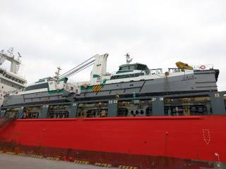 Damen delivers two FSC 2710 vessels to Hung Hua Construction
