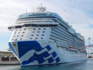 Port Everglades Welcomes Princess Cruises' Sky Princess