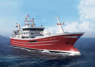 Wärtsilä to provide latest engine and power generation technology for new Scottish fishing trawler