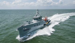 Homeland IOS Ltd takes delivery of the latest Damen FCS 3307 Patrol vessel