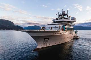 Damen Shipyards Group completes the extensive rebuild of 'OceanXplorer'