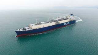 SCF takes delivery of SCF Barents – a new LNG carrier chartered to Shell
