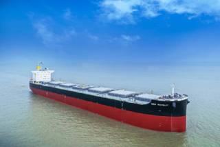 Kawasaki Heavy Industries Delivers Bulk Carrier NEW WAVELET