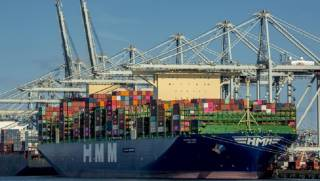 Largest Container Ships In The World Visit The ECT Delta Terminal