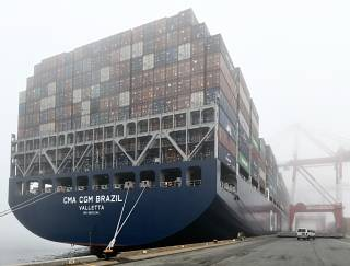 The Port of Halifax receives the largest container vessel to call at a Canadian port