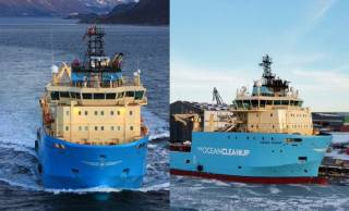 Second Maersk Supply Service vessel to support The Ocean Cleanup