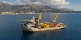 Jan De Nul connects Crete to the Greek mainland