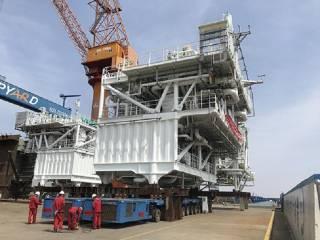 Wärtsilä Regas modules supplied for China's first new-built FSRU