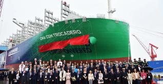 CMA CGM Trocadero - 8th LNG-powered behemoth joins CMA CGM's fleet