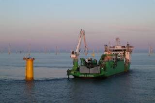 Living Stone's Peak Production Levels Ensure Inter-Array Cable Laying Works at SeaMade are achieved in record time