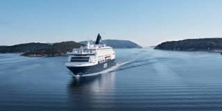 The DFDS ferries in Copenhagen will be receiving shore power