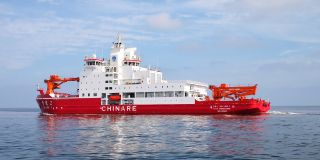 MacGregor deck handling solution supports China's Xue Long 2 icebreaker operation