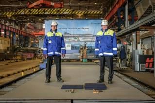 Rauma Marine Constructions Starts Building Tallink's New LNG-Powered Shuttle Ferry despite global coronavirus pandemic