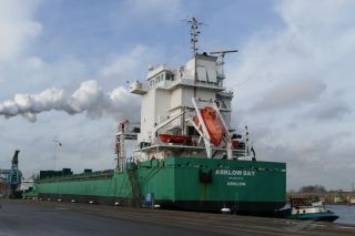 Five crewmembers of Irish freighter Arklow Day injured by wave hit, evacuated, Bay of Biscay