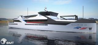 BMT unveils new passenger and cargo vessel designs for Isles of Scilly Steamship Company