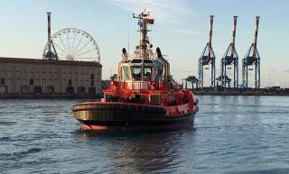 Sanmar delivers Robert Allan-designed ASD tug to Rimorchiatori Riuniti