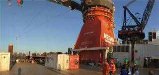 Ulstein to convert AEGIR – from deep water construction to offshore heavy lift vessel
