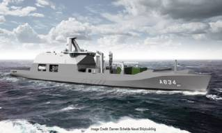 GE to Provide Electric Propulsion Systems to Royal Netherlands Navy new Combat Support Ship