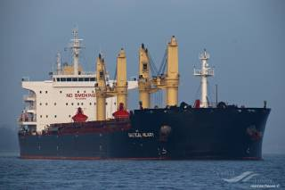 Eagle Bulk Shipping Takes Delivery of MV Antwerp Eagle
