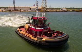 Eastern Shipbuilding Delivers Tug to Bisso Offshore