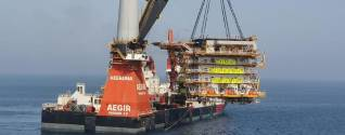 Aegir completes installation for Qatargas