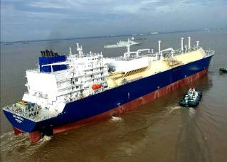 Hudong-Zhonghua Shipbuilding to deliver third Yamal LNG carrier