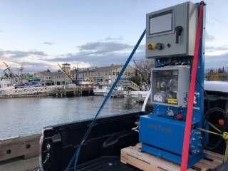 ERMA FIRST adds world's smallest ballast water treatment system to product range
