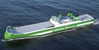 The construction of Finnlines' newest vessel to start