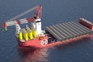 Manufacturing of Liebherr Heavy Lift Crane 150000-3000 for Alfa Lift reaches key milestone