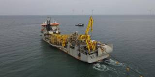 Jan De Nul successfully installed Formosa 2 Export Cables