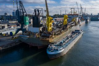 World First for Boskalis By Operating a Dredging Vessel On 100% Bio-Fuel Oil