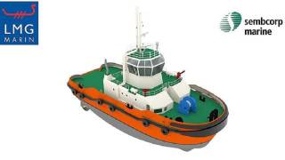 SCHOTTEL's Azimuthal Hybrid Drive system SYDRIVE-E for the world's first LNG hybrid tug
