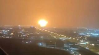 WATCH: Large explosion aboard container ship Ocean Trader at Port of Jebel Ali, Dubai