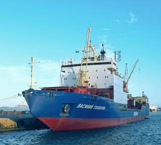 FESCO's vessel departed to Antarctica to supply India's research stations