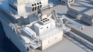 ABB containerized energy storage offers plug-in battery power for a wide range of ships (Video)