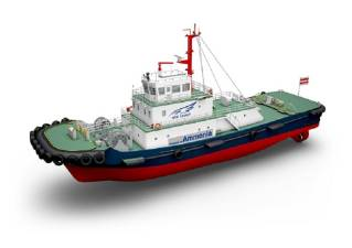 Joint R&D Starts for Practical Application of Ammonia-fueled Tugboat