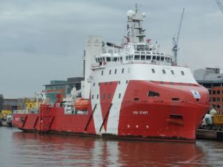 VOS Start operating for new client in Belgian waters