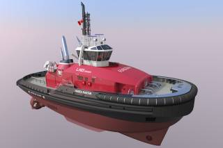 Five powerful low-emission tugs for HaiSea Marine propelled by SCHOTTEL