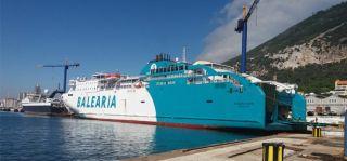 Baleària starts third ferry LNG retrofit
