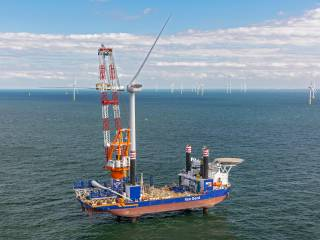 Aeolus completes turbine installation at Borssele III & IV offshore wind farm