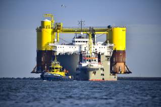 SPOTTED: Kickoff final campaign for world's largest floating offshore wind farm