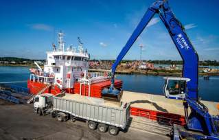 ABP's ports in East Anglia keep agricultural products moving