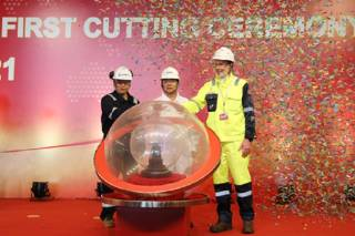 Spotted: Bacalhau FPSO Topside Project First Cutting Ceremony