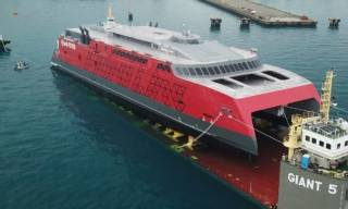 Mammoet's Smart and Safe Solution For Austal Philippines' Ferry Launch