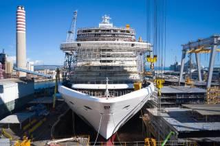 MSC Cruises and Fincantieri celebrate float out of MSC Seashore