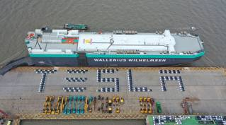 Wallenius Wilhelmsen Ocean: Supporting Tesla with first shipments of China-made cars to Europe (Video)