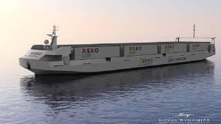 Two autonomous electric Ro-Ro vessels driven by SCHOTTEL